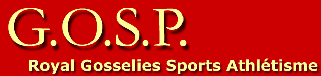 GOSP - Royal Gosselies Sports Athlétisme